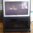 東芝ワイドテレビFACE 36Z6P ブラウン管テレビ テレビ台付き