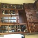 カリモク コロニアル  食器棚/カップボード