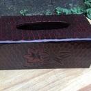 鎌倉彫 ティッシュケース