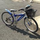 Panasonic 6段変速ギア 24インチ自転車