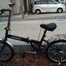 ジャンク 折り畳み式自転車