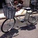 ブリジストン電動自転車子供乗せ付き