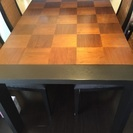 アジアン家具(クワイエットアワーズ)ダイニングテーブルセット