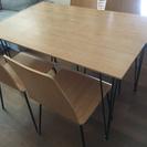 IKEA ダイニングテーブル&チェアセット