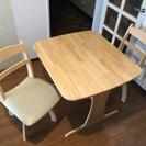 テーブル&回転椅子セット