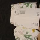 【値下げ】IKEA ダブル(200×200)用布団カバー+枕カバー...