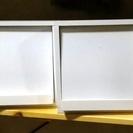 木製CDラック 2個ワンセット