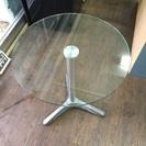 ガラステーブル、売ります