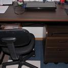 事務用デスク・袖机・椅子セット