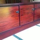 キャビネット木製 リビングボード