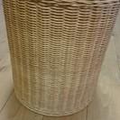 藤製 ラタン 鉢カバー カゴ 籠 ダストボックス 収納