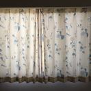 値下げ!腰窓用カーテン(2枚組)