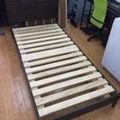 木製シングルベット、マットレス大塚家具