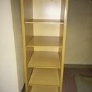 【5/16まで】 5段木製棚 幅25cm奥行30cm高さ75cm