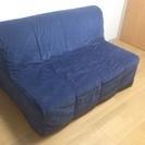[値下しました]IKEA ソファベッド