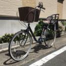 【値下げ】子供乗せ中古自転車  26インチ!!