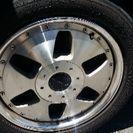 17㌅ホイル、タイヤ付き
