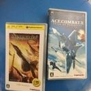 PSPソフト☆エースコンバットX.X2セット