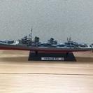 タミヤ 日本駆逐艦模型 雪風(組立済み、台座付き)
