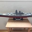 戦艦 武蔵 (模型組立済み、台座あり)