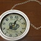 レトロな掛け時計*
