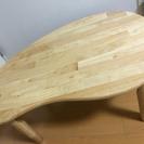 【急】ミニウッドテーブル (折りたたみ式)