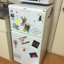 【急】ミニ冷蔵庫 ホワイト Haier