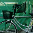 自転車の子供乗せ