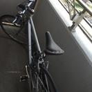 【商談中】シルバーの自転車です