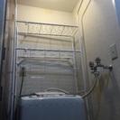洗濯機の上を有効に使える収納
