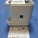 シャープ 加湿器 プラズマイオン発生機能付。中古品