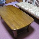 木製 センターテーブル あげます!