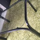 【中古】ガラステーブル