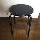 さしあげます、椅子 黒
