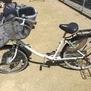 幼児2人同乗対応自転車子乗せ、ふらっかーず