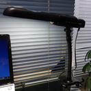 終了しました デスク スタンド 照明 美品です クリップライト T...