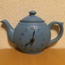 アフターヌーンティーのポッド型時計