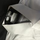 レミュール 形態安定ノーアイロン 半袖デザインカッターシャツ LL43