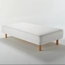 無印良品 脚付きマットレスベッド