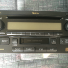 ハイエース純正CD/カセット