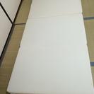 【500円‼︎】ニトリシングル三つ折り硬質マットレス!
