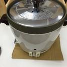 値下げ!(写真追加)業務用 2升炊き 炊飯器 都市ガス