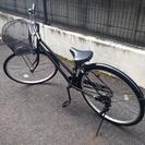 【無料】26インチ自転車(黒)