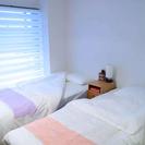 sold値下げ!airbnb家具 シングルベッド 2台 持ち運びや...