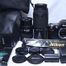 極少ショット7818回★ 極上品 Nikon ニコン D70 Wレ...
