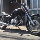 カワサキ エリミネーター125 アメリカンタイプ 2種バイク 割と...