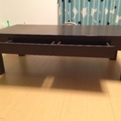 [取引中]引き出し付きローテーブル