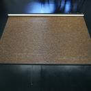 タチカワ簾ロールスクリーン (ダークブラウン)166×110
