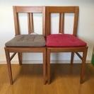 木製 椅子 ダイニングチェア 2脚 チェア