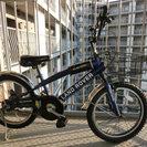 【商談中】子供用 自転車 18インチ ランドローバー 青色 LAN...